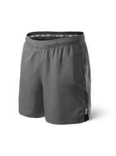 Pantalones Deporte Kinetic Run SAXX de color Gris