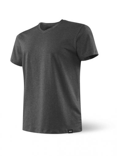 Camiseta Hombre 3Six Five SAXX de color Gris