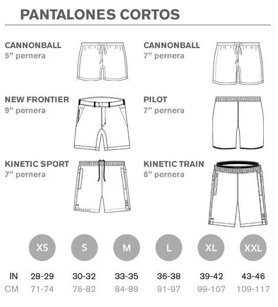 Tallas de pantalones saxx